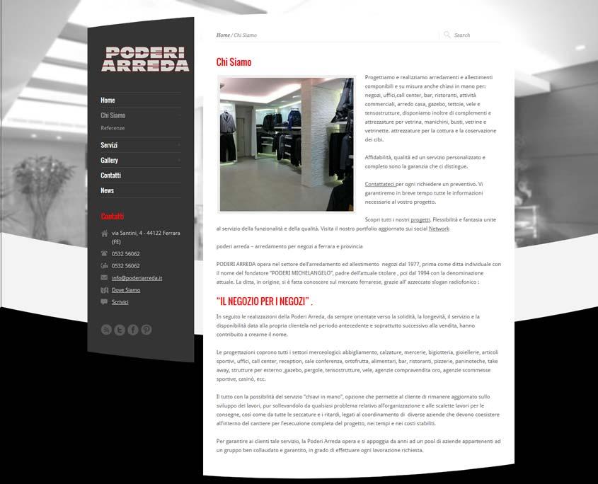 realizzazione sito web ferrara