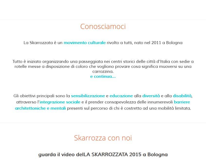 realizzazione sito web bologn