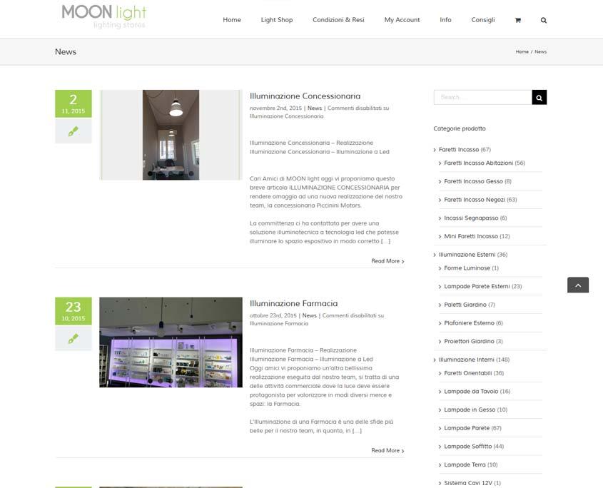 realizzazione sito web ecommerce