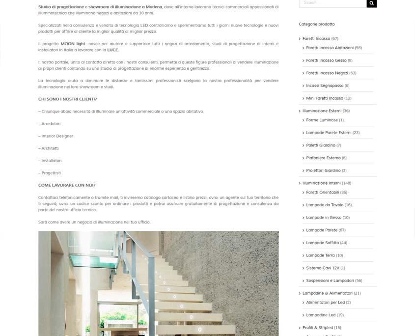 indicizzazione sito web ferrara