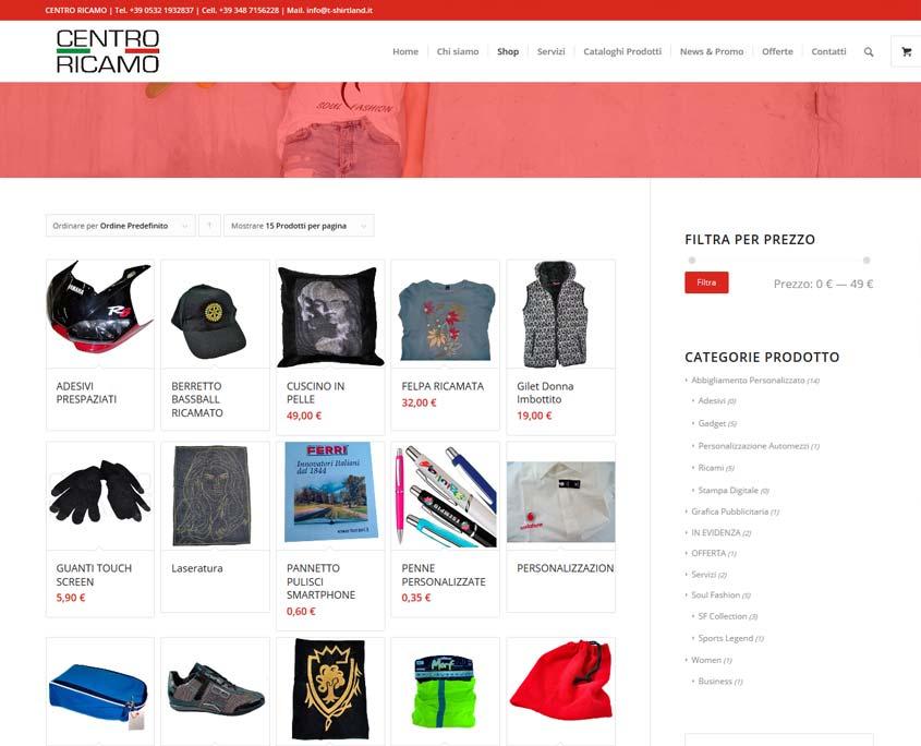 indicizzazione sito web ecommerce ferrara