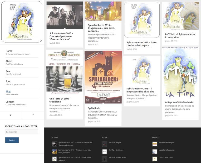 realizzazione sito web modena