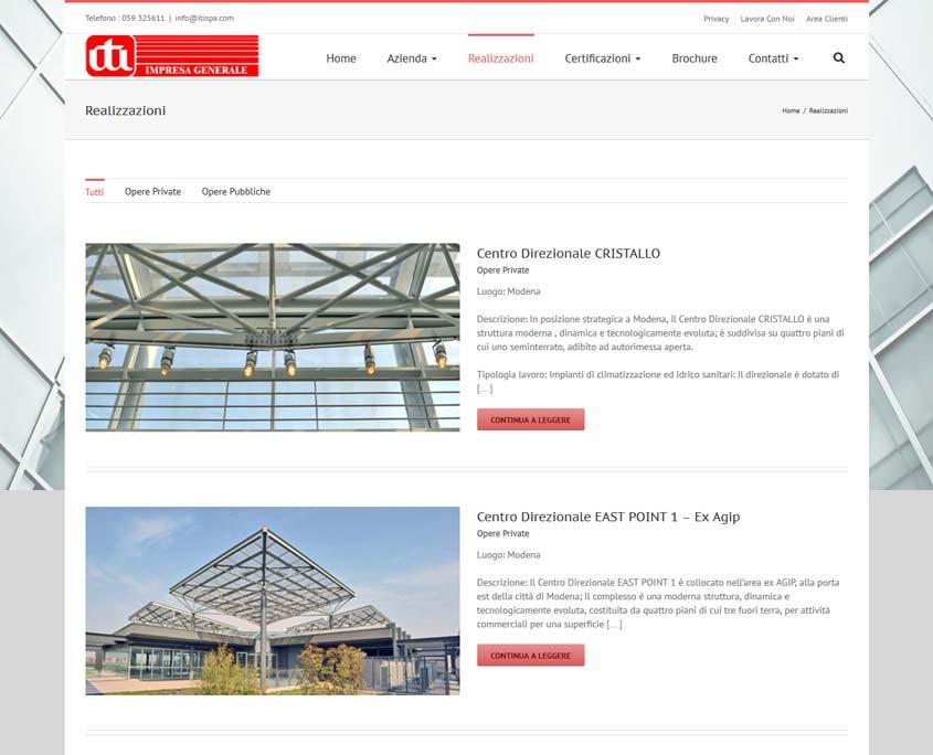 indicizzazione sito web modena