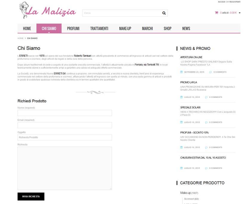 indicizzazione sito web ecommerce