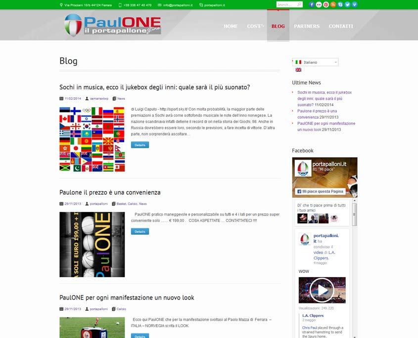 posizionamento sito web ferrara