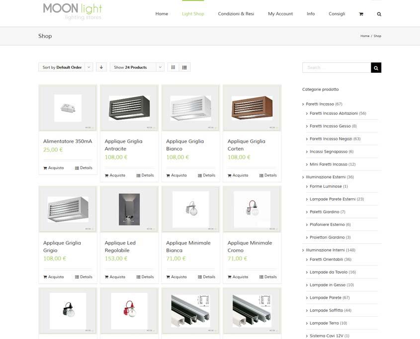 posizionamento sito web ecommerce