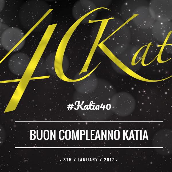 Organizzazione Evento Katia 40 - Cema Next